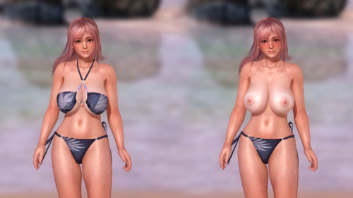 Erotic DOA - Dead or Alive 5 Last Round HDM Nude Mod - part 18