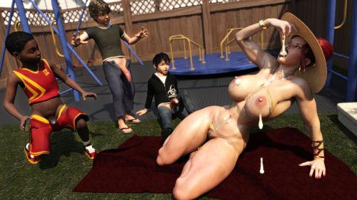 Morgan – Playground Fun- Zz2tommy - part 3
