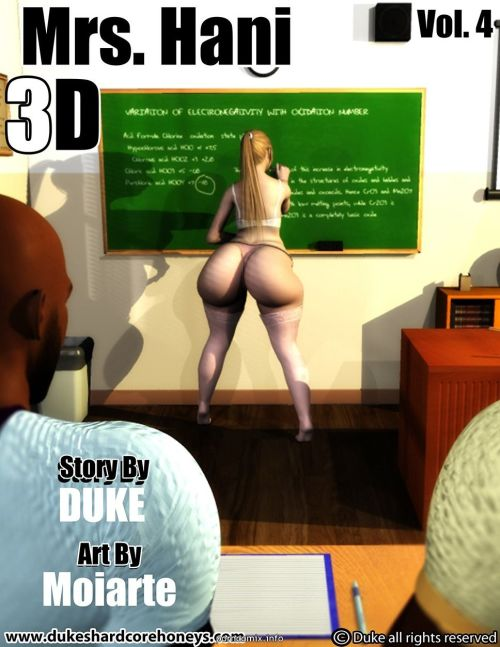 Mrs.Hani 3D Vol 4- Duke Honey