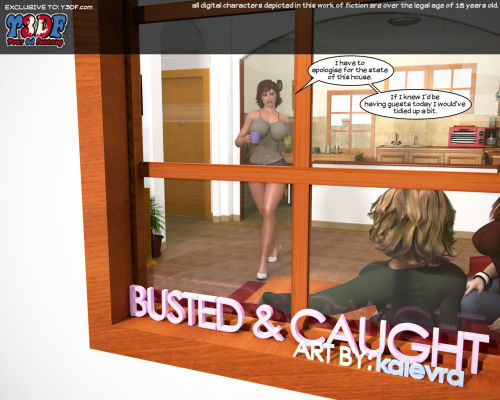 Y3df- Busted & Caught
